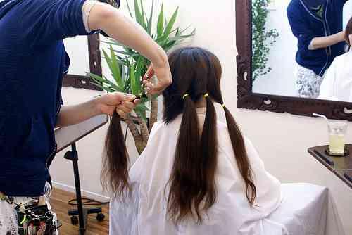 icoro : 長く伸ばした髪の毛を寄付してみた
