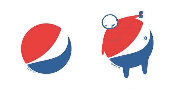 炭酸飲料の風刺