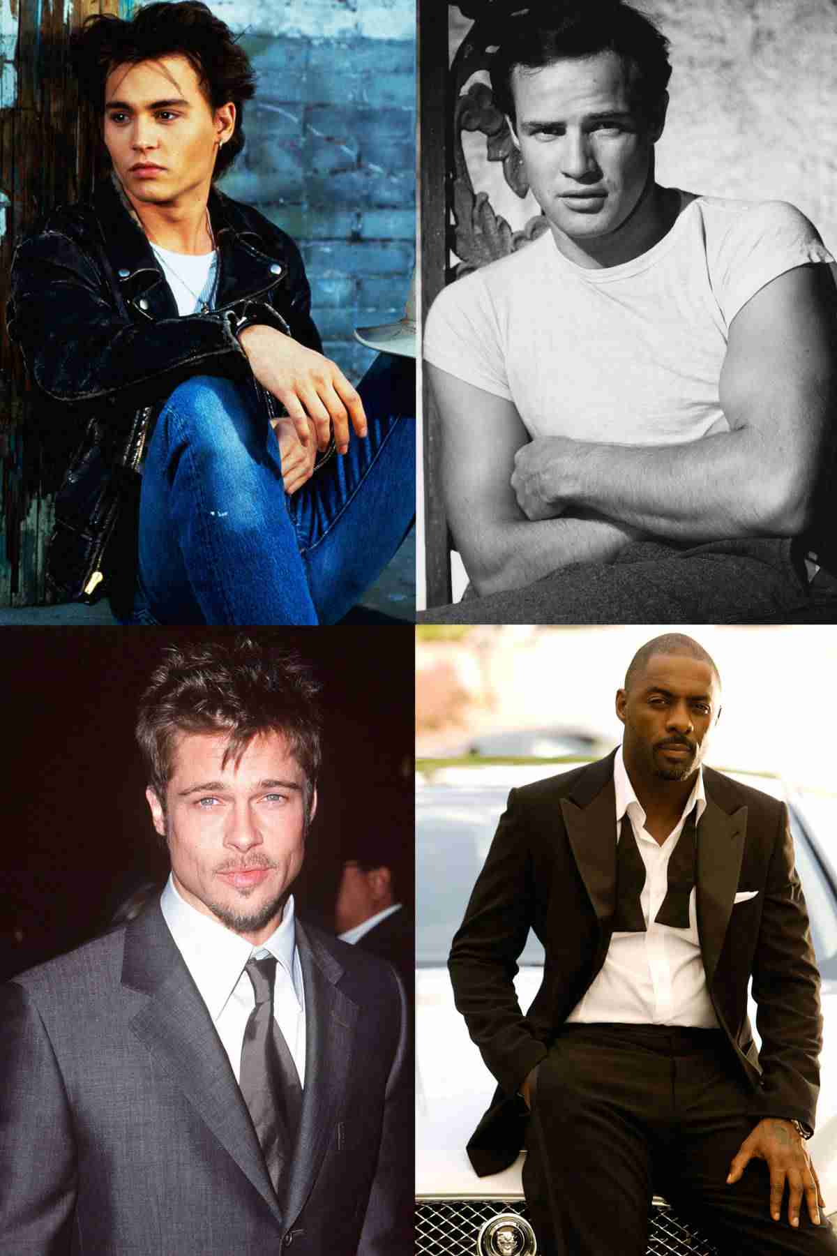 Hottest Men of All Time - Most Attractive Celebrities