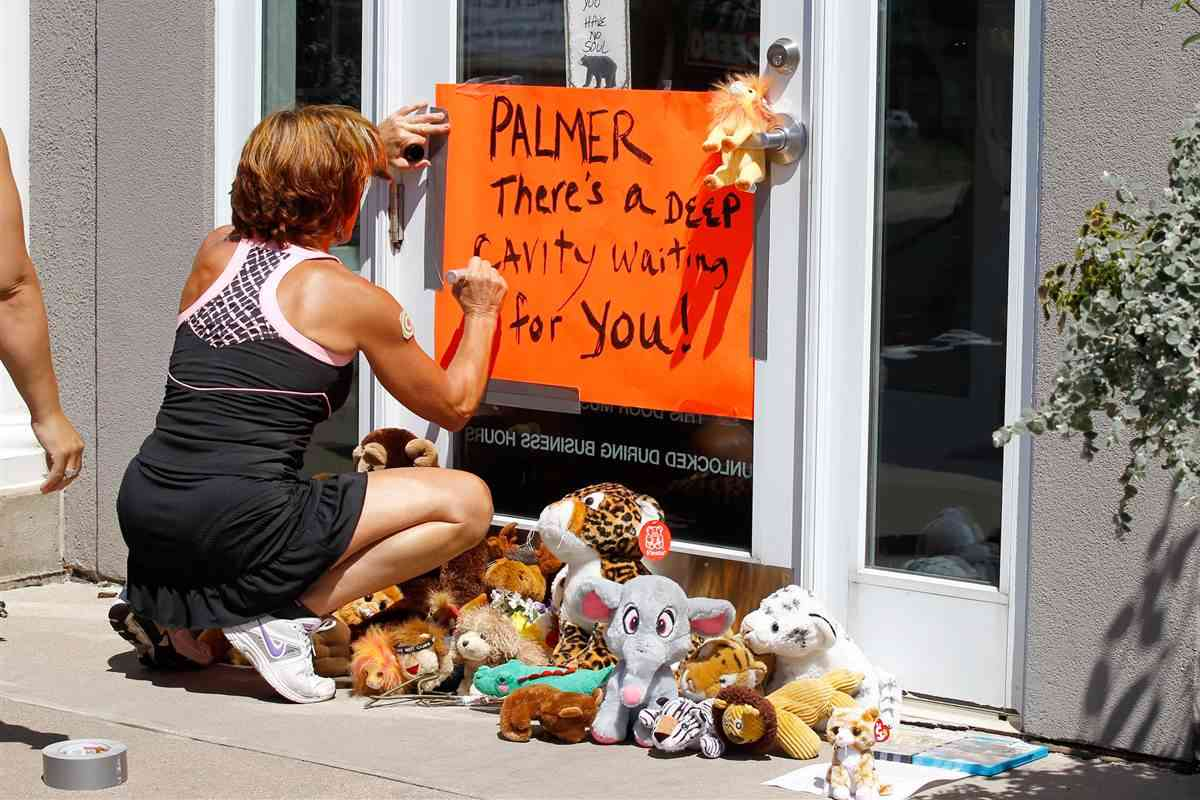 Cecil the Lion's Killer Walter James Palmer Apologizes to Dental Patients - NBC News