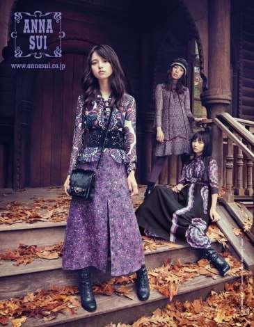 乃木坂46齋藤飛鳥らANNASUIモデルに異例の抜てき 日本人は杏以来9年ぶり | ORICON STYLE