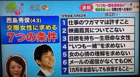 """西島秀俊の厳し過ぎる7つの結婚条件…耐えた妻に""""プロ彼女""""の声"""