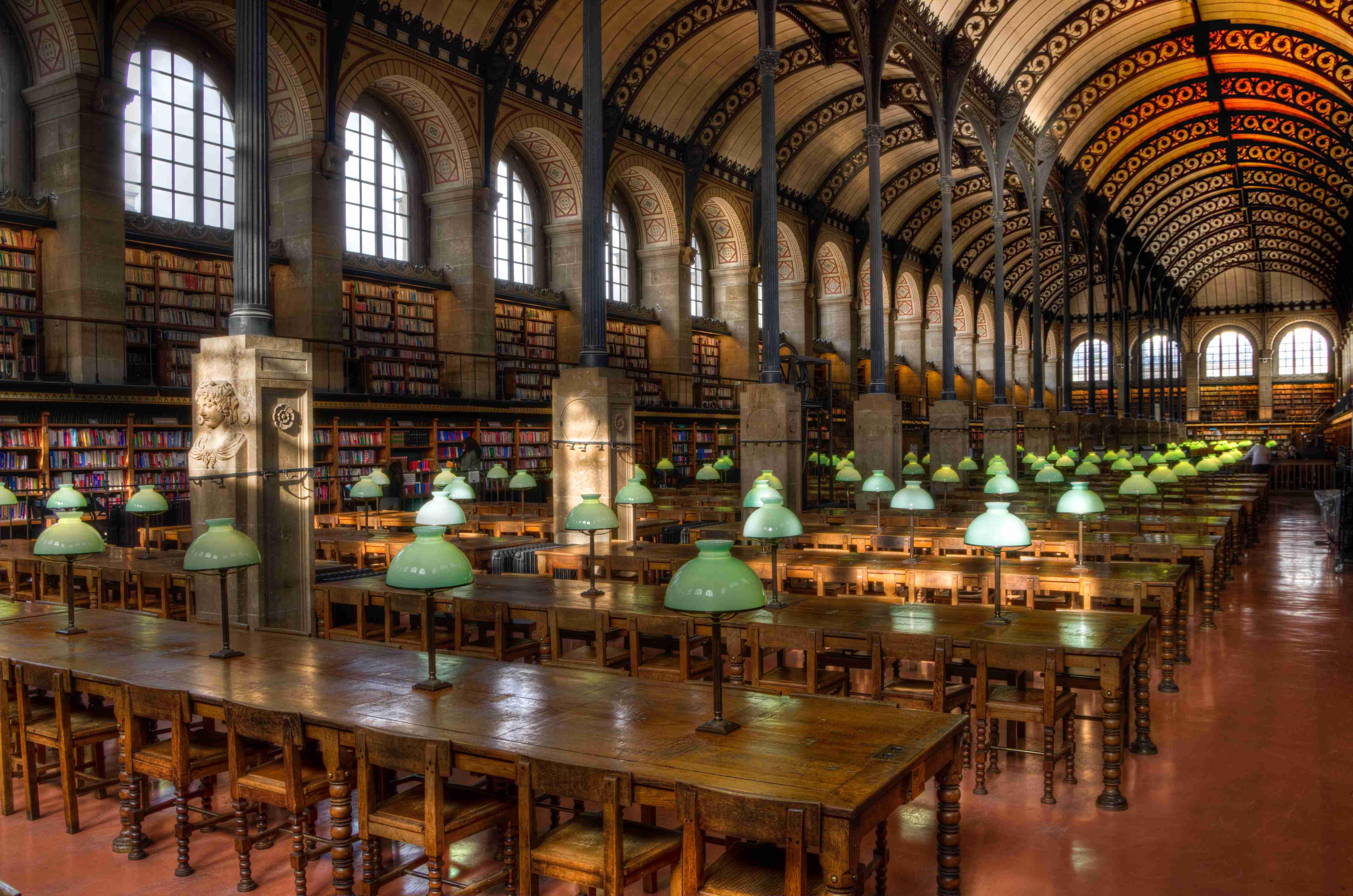【画像】世界の美しい図書館を貼って行きましょう