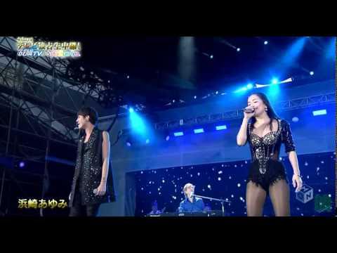 AYUMI HAMASAKI-DEPARTURES feat.小室哲哉&浦田直也(a-nation 2015/8/23 osaka) - YouTube