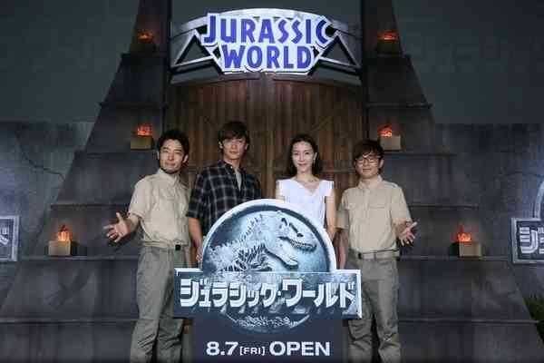 玉木宏、木村佳乃ら『ジュラシック・ワールド』吹き替えに決定 | RBB TODAY