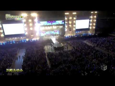 150830 2015 a-nation stadium fes 浜崎あゆみ 4/5 - YouTube