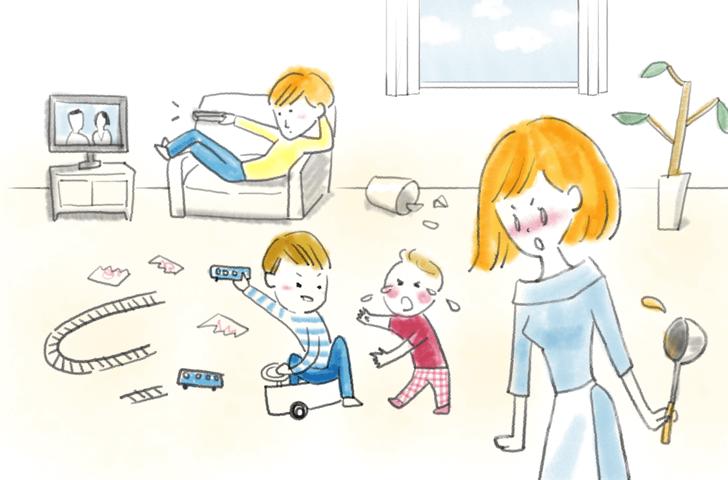 家事&育児、ついつい文句を言ってしまう人