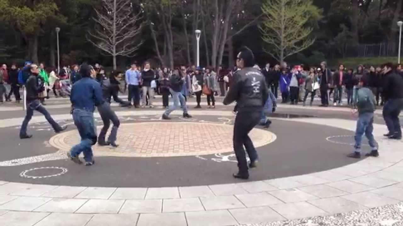 代々木公園 ロカビリー 原宿 Yoyogi Park (Rockabilly dancers club in Tokyo,Japan) - YouTube