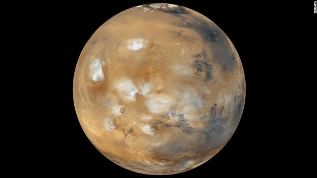 CNN.co.jp : NASAが火星表面に水の流れを確認、生命の存在に期待 - (1/2)