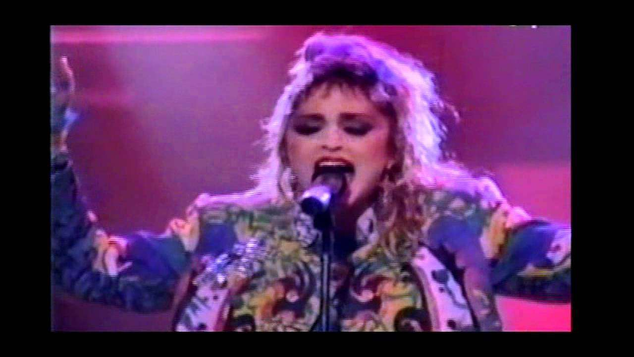 Madonna - Dress You Up LIVE HD 720p - YouTube