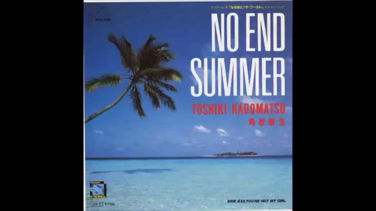 NO END SUMMER  角松敏生 - YouTube