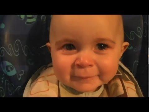 世界一エモーショナルな赤ちゃん 可愛すぎる!! - YouTube
