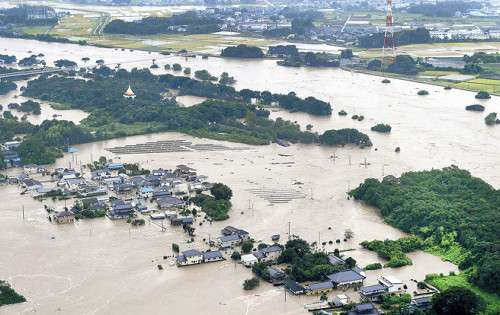 【鬼怒川氾濫】ソーラーパネル設置のため削られた自然堤防「一番危険な場所」も土のうだけ