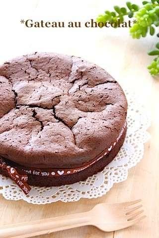材料2つ♡濃厚ガトーショコラ by Banyangarden [クックパッド] 簡単おいしいみんなのレシピが216万品