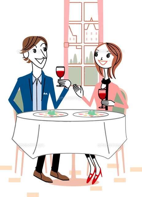 男性と食事に行って引いたエピソード