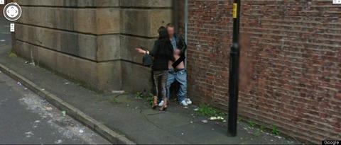 Googleストリートビューの衝撃写真