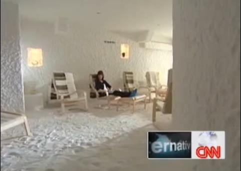 塩の洞穴治療という自然病院 | cotoba