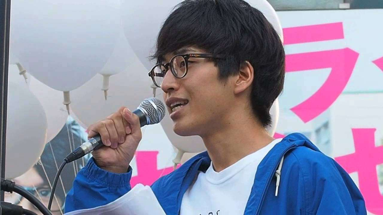 2015.10.18「安保法制に反対する渋谷街宣 (SEALDs & T-ns SOWL)」: 小林叶さん (SEALDs)【14/19】 - YouTube