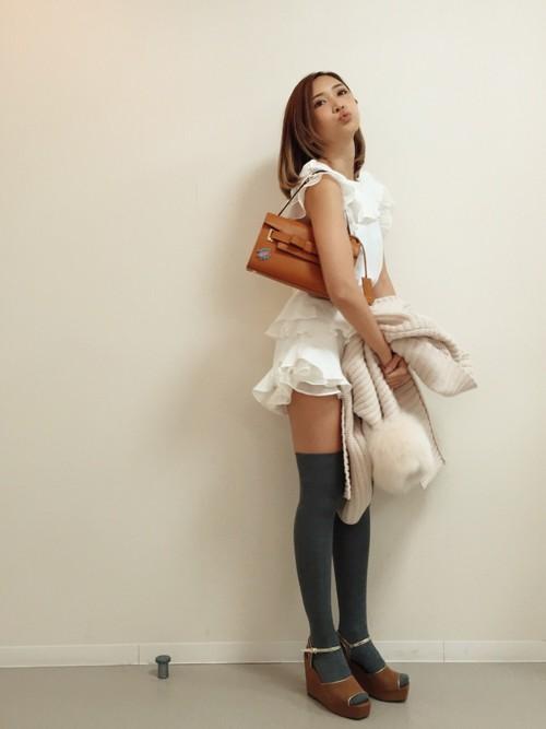 紗栄子(サエコ)│Samantha Thavasaのハンドバッグコーディネート-WEAR