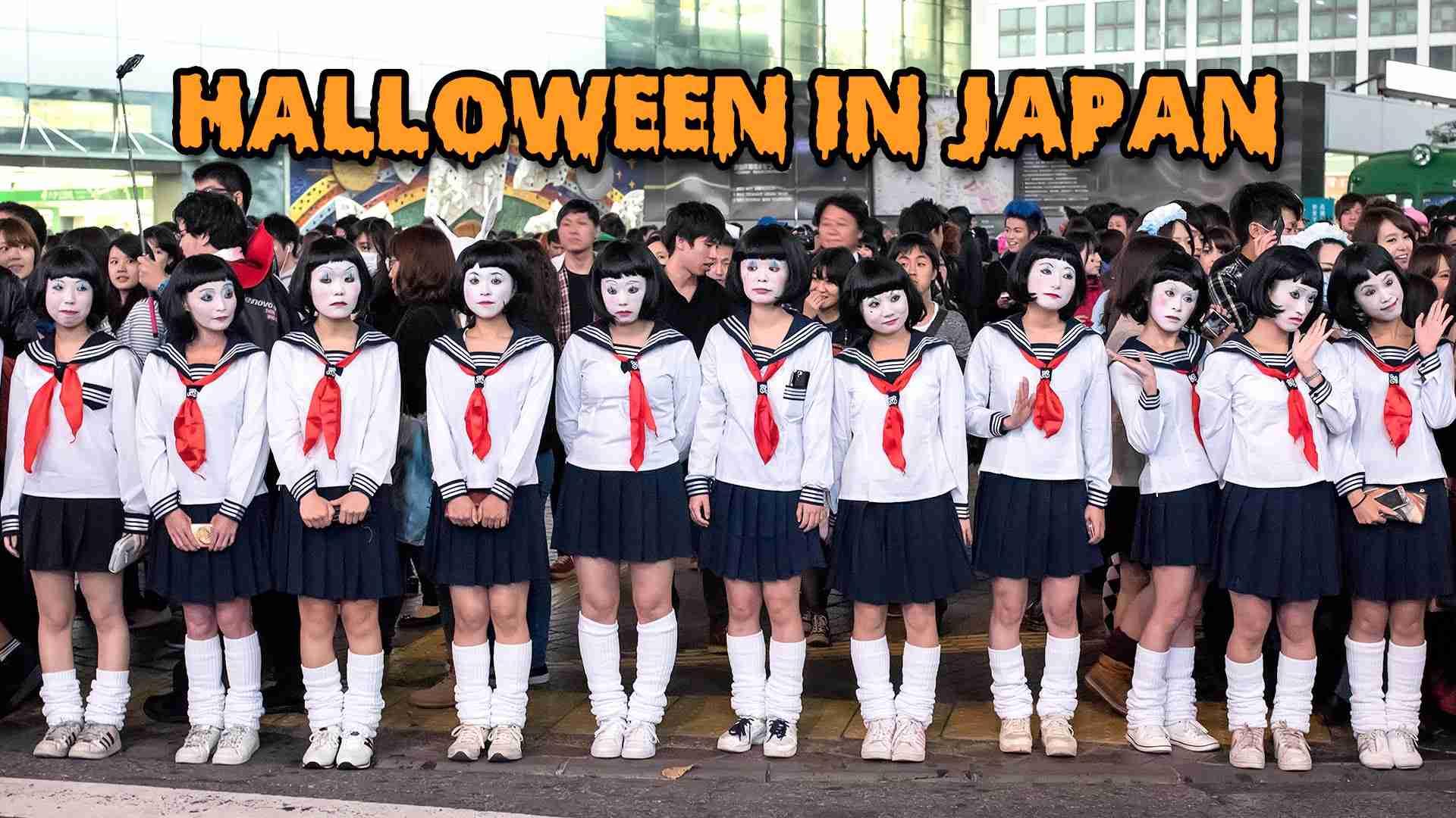 Halloween in Japan - Tokyo Costume Street Party 渋谷 ハロウィン - YouTube