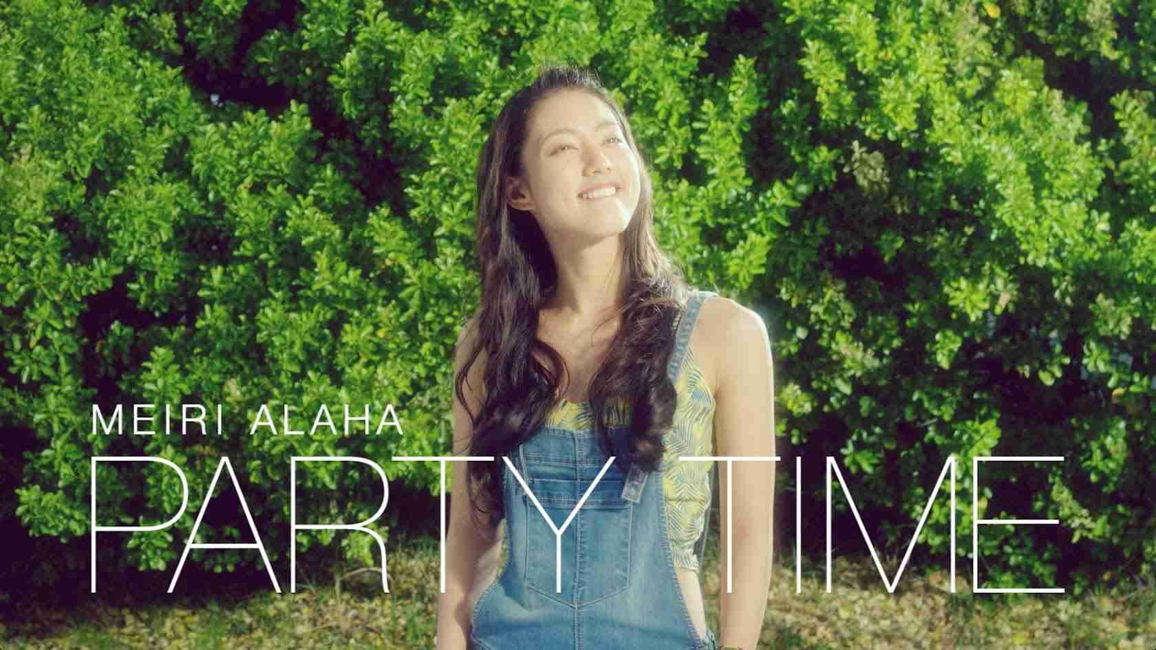安良波明里 (ALAHAMEIRI) -PARTY TIME M/V - YouTube