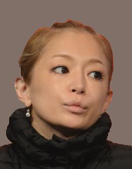 浜崎あゆみのでこ出しヘアアレンジがキュート