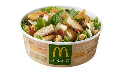 マクドナルドのサラダはビッグマックよりも高カロリー・高塩分・高脂肪で健康志向とは相容れないと判明 - GIGAZINE