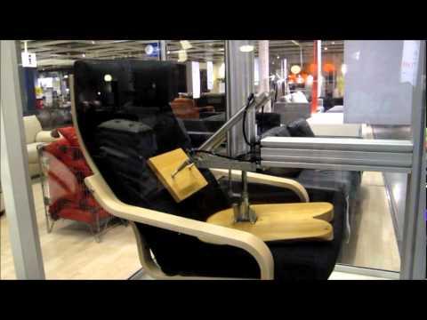 IKEA Chair Durability Test - YouTube
