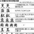 はねても、とめても正解…漢字の細かい違い許容