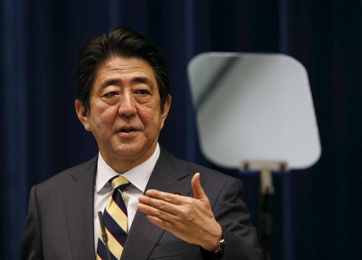 来年4月の消費税上げ、重大な事態なければ確実に実施=安倍首相| Reuters