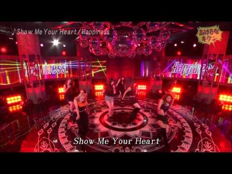 20150419  Happiness - Show Me Your Heart - あけるなキケン - YouTube