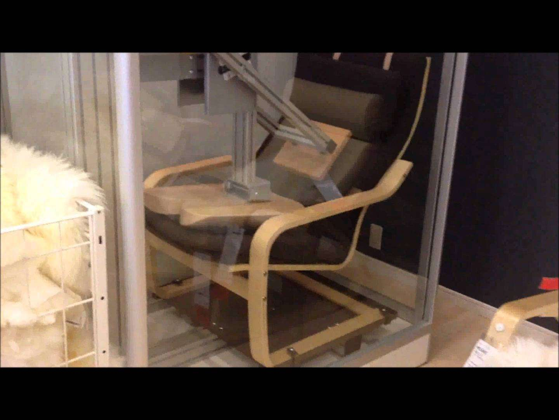 IKEAのポエング 品質テスト - YouTube