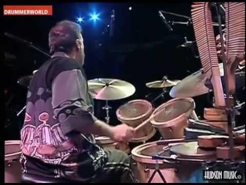 Airto Moreira Drum Solo bateristars.com - YouTube
