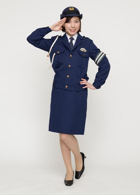 【画像】俳優・女優が演じた、色々な職業の制服姿