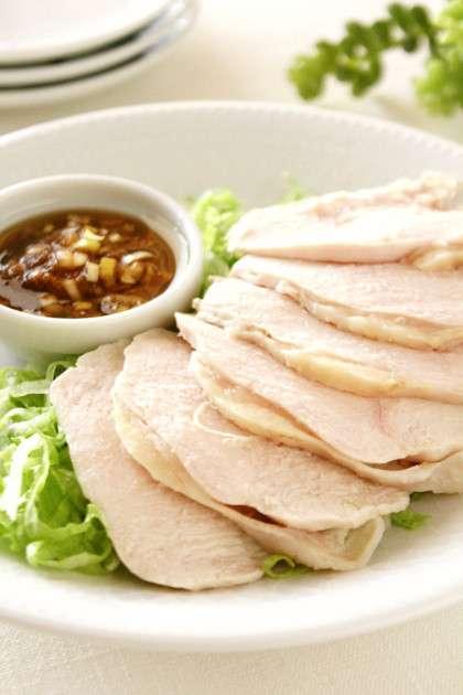茹で時間3分♫ヘルシ~茹で鶏*香味ソース by Banyangarden [クックパッド] 簡単おいしいみんなのレシピが231万品