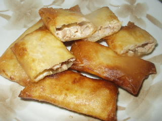 ツナと玉ねぎの春巻き by おこおこ [クックパッド] 簡単おいしいみんなのレシピが231万品