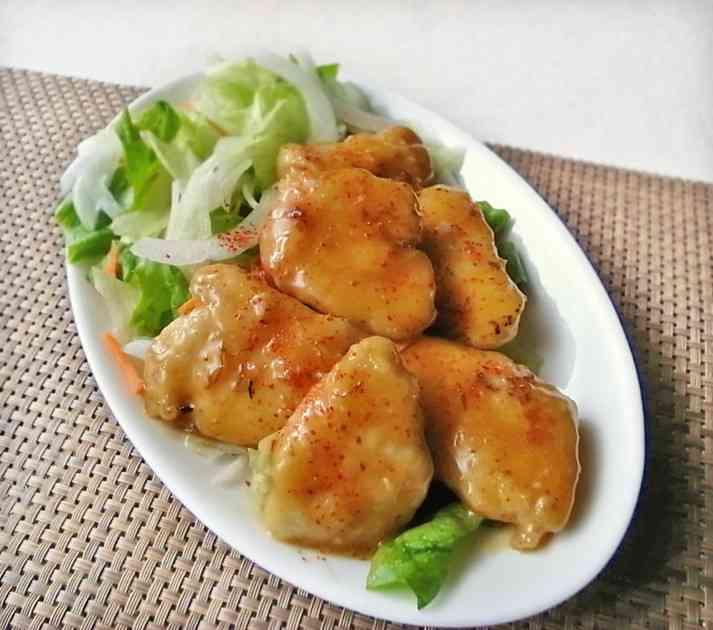 鶏胸肉がこってり旨~い♪オイマヨあえ by moj [クックパッド] 簡単おいしいみんなのレシピが231万品