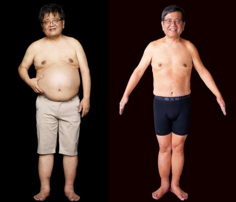 森永卓郎氏、ライザップで肉体改造 約20キロ減量に成功