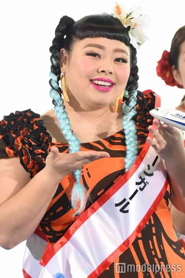 航空会社の沖縄キャンペーンガールに選出された渡辺 直美