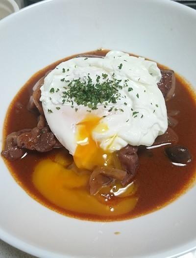 鶏肉のワイン煮込(ポーチドエッグのせ) by あさひちゃん [クックパッド] 簡単おいしいみんなのレシピが231万品