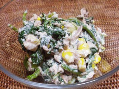 もりもり食べちゃう★ほうれん草ツナサラダ by wappa [クックパッド] 簡単おいしいみんなのレシピが231万品