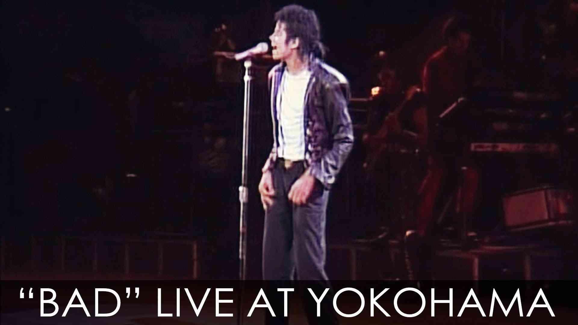 "Michael Jackson - ""BAD"" live Bad Tour in Yokohama 1987  - YouTube"