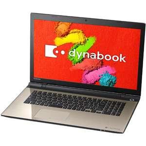 PTEX-87TBWG | 東芝 | ノートパソコン dynabook EX87/TG サテンゴールド(Office Home&Business Premium)【Joshinオリジナル】