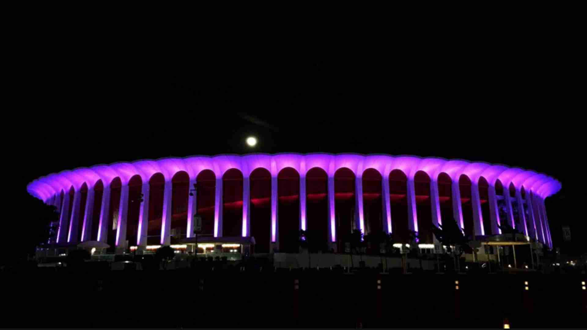 Purple Rain: Cities Across the Country Light Up in Memory of Prince | KTLA