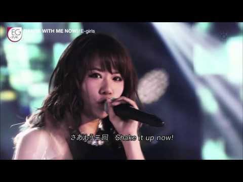 E girls「DANCE WITH ME NOW!」LIVE - YouTube
