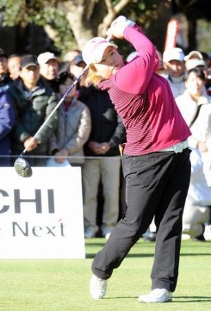 モス\(^o^)/ 韓国ゴルファーのアン・ソンジュ(26)がモスバーガーと所属契約 : とろ速