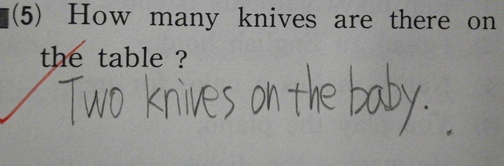 【学校】テストの面白珍回答