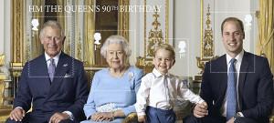 英女王90歳記念切手にジョージ王子も初登場 : 国際 : 読売新聞(YOMIURI ONLINE)
