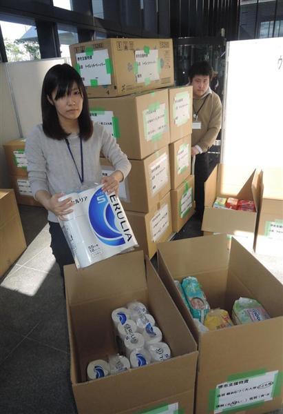 【熊本地震】「いつ届く、市民からの支援物資」 熊本市が受け入れ中断で不透明に (1/2ページ) - 産経WEST