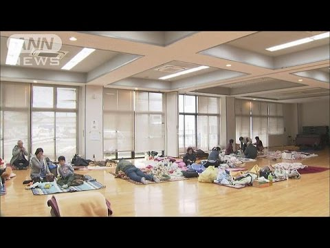 避難所で70代女性が死亡・・・ストレスなどが原因か(16/04/18) - YouTube